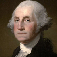 President George Washington. Good luck calling him!